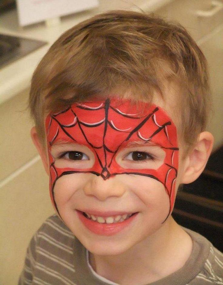 Spiderman schminken – Anleitung und Ideen für Kinder und Erwachsene