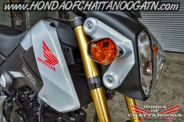 White Honda Grom For Sale - TN / GA / AL  area Motorcycle & PowerSports Dealer. 2015 Honda Sport Bike Models / Lineup at Honda of Chattanooga www.HondaofChattanoogaTN.com