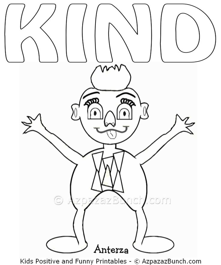 kind coloring pages - photo#17
