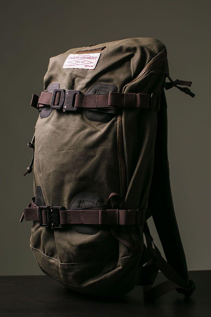 Burton x Filson Pack: Two greats, one bag.