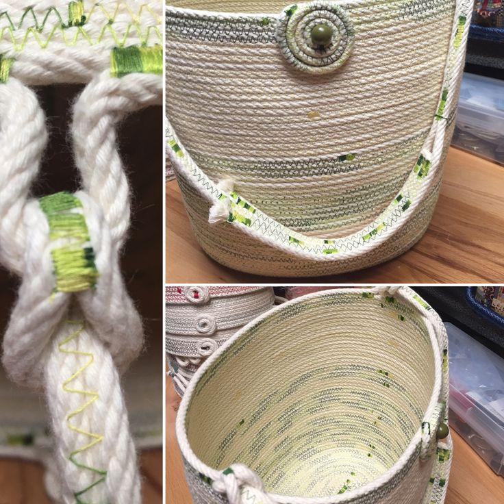 Cotton Clothesline Rope Enchanting 99 Best Wrapped Clothesline Images On Pinterest  Fabric Bowls Rope Design Decoration