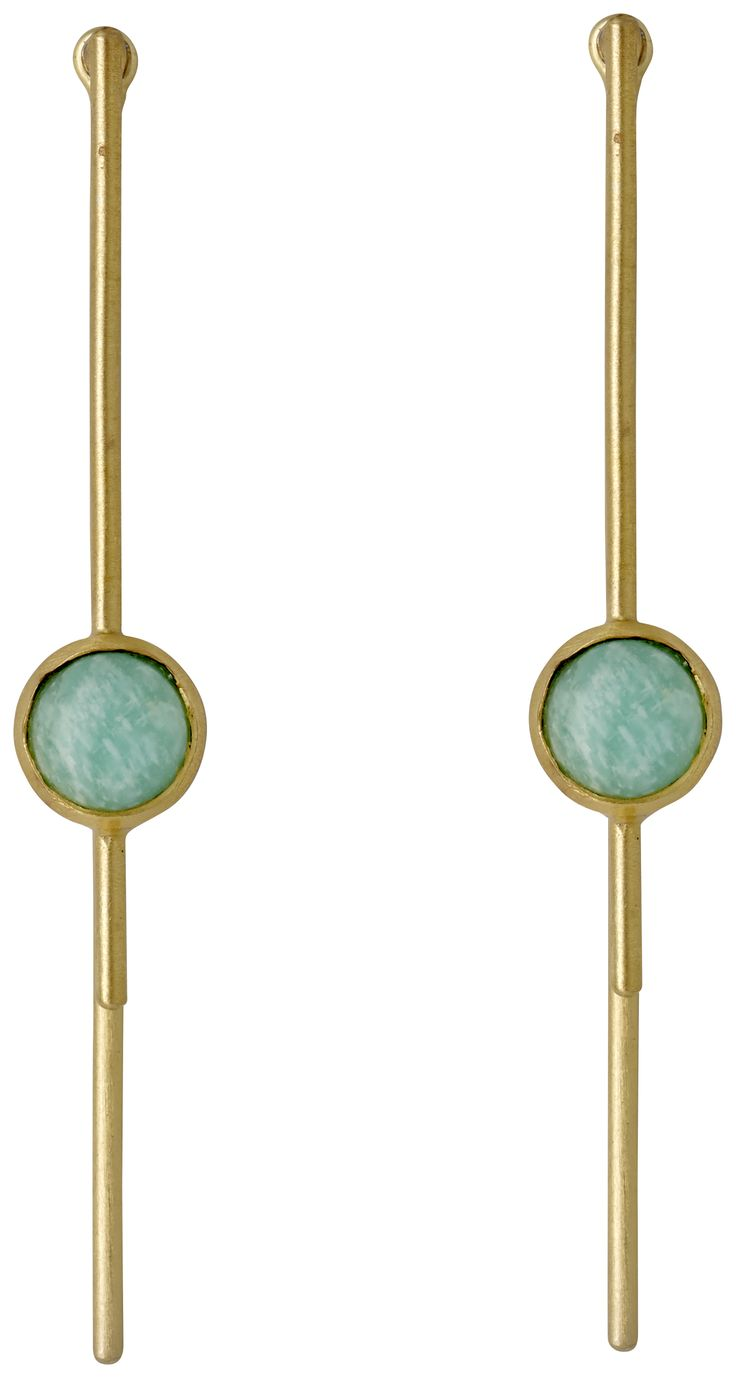 Pilgrim Jewellery, Amazonite 2 in 1 earrings.  £19.99.  www.piccadillylily.com