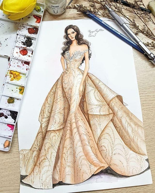 Illustrationsposters Infographics Movieposters Fashion Illustration Sketches Dresses Dress Design Drawing Fashion Design