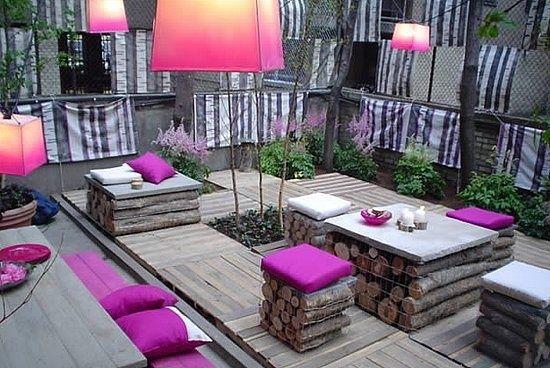 Jardim violeta