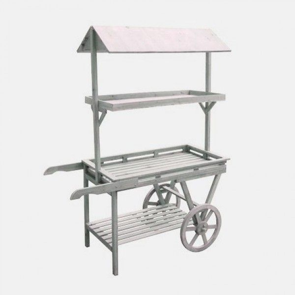 Carrito madera candy bar alquiler 150 carrito p mesa for Mesa carro bar madera