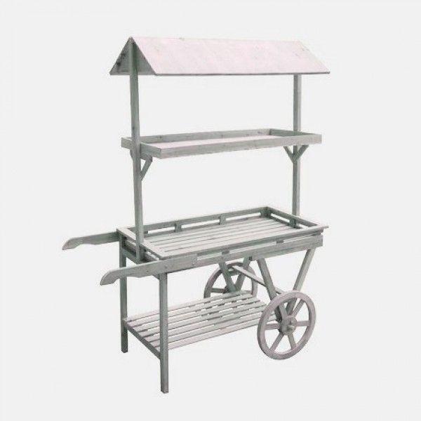 Carrito madera candy bar alquiler 150 carrito p mesa for Bar portatil madera