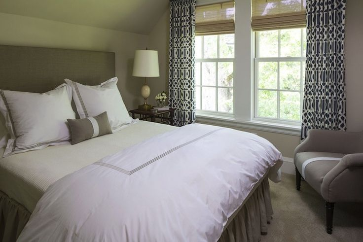 Martha O 39 Hara Interiors Chic Bedroom With Vaulted Ceiling