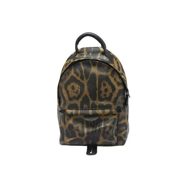 Pre-owned Louis Vuitton Palm Springs PM Animal Print Coated Canvas... (21065 MAD) ❤ liked on Polyvore featuring bags, handbags, backpack duffel bag, backpack purse, shoulder strap backpack, duffle bag and louis vuitton backpack