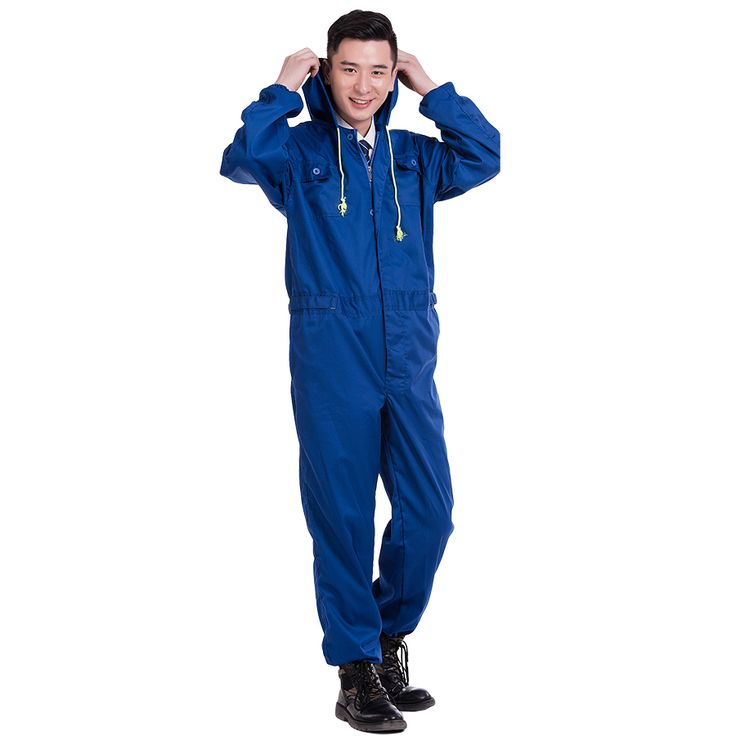 Cheap work clothing, Buy Quality work clothes overalls directly from China working overalls Suppliers: Men Women Work Clothing Long Sleeve Hooded Coveralls Dust-proof Anti-pollution clothes Painting Auto Repair Sets Overalls M-4XL