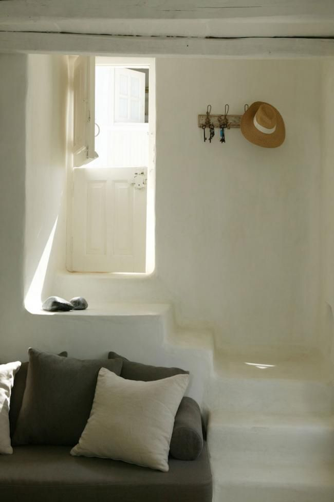 casa tradicional griega en la isla de Tinos