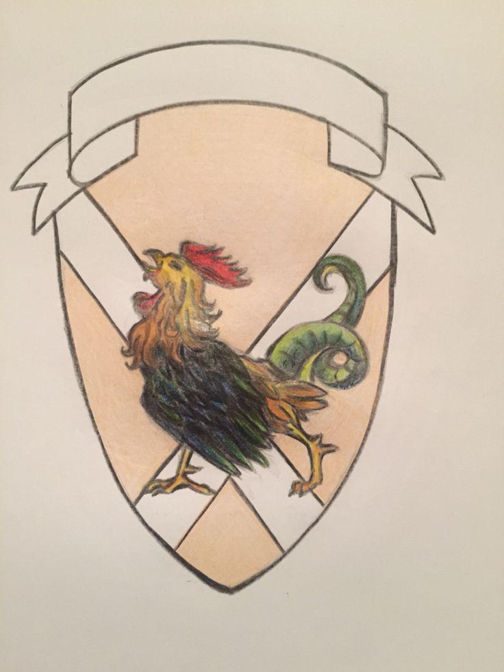 Stemma con gallo