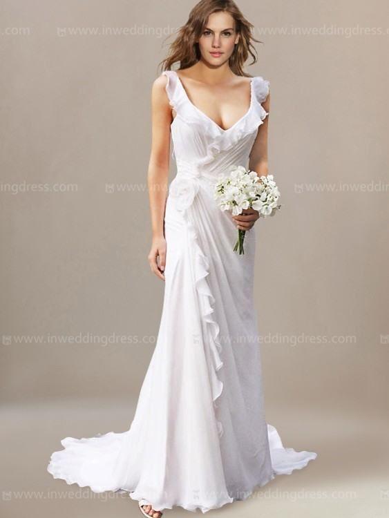 Vestidos de casamento de praia 2017   – Wedding Dress