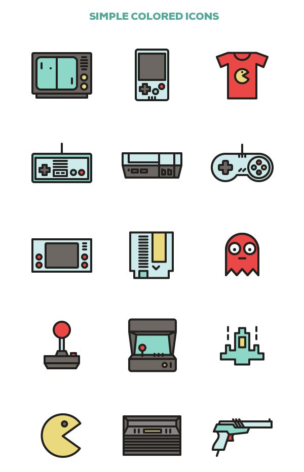 Retro Games on Behance