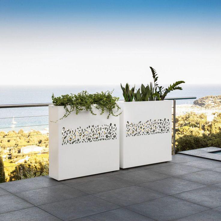 Jardinière en pierre / rectangulaire / contemporaine / à usage résidentiel By Roberto Serio    TALENTI
