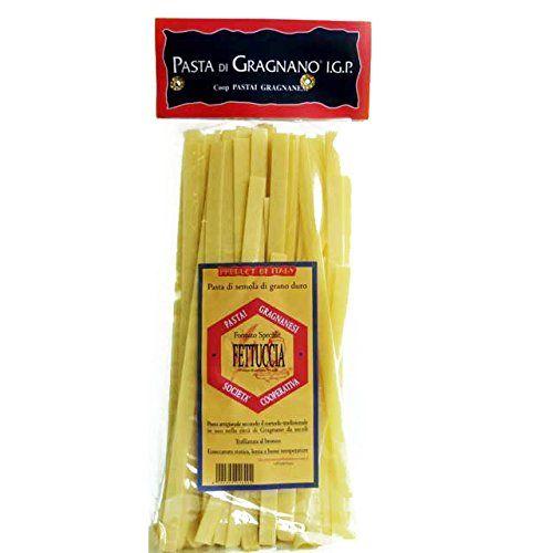Authentic Fettuccia Pasta di Gragnano IGP 17.6 Oz, ,