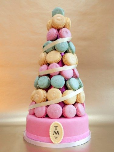 macaroon cake stand - photo #43