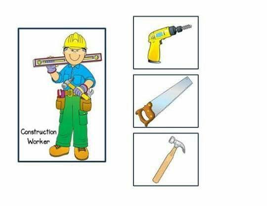 Trabajos y sus herramientas