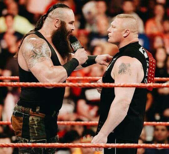 Braun Strowman vs. Universal Champion Brock Lesnar