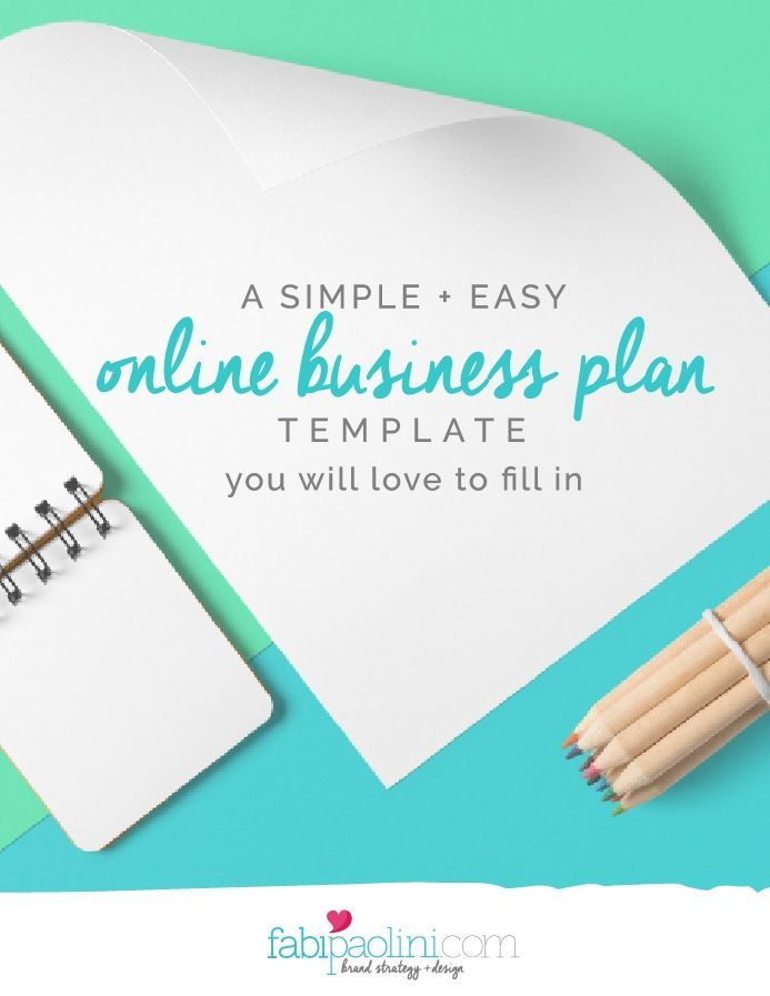 Best 25+ Simple Business Plan Template Ideas On Pinterest | Simple