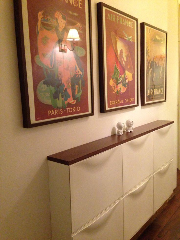 42 best trones ikea images on pinterest ikea hacks door entry and entrance hall. Black Bedroom Furniture Sets. Home Design Ideas