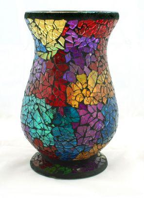DIY Make unique containers Ribbon Vase, Dry Petal Pot, Mosaic Vase & More