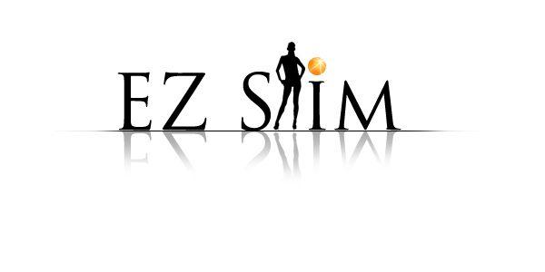 EZ Slim Logo Design