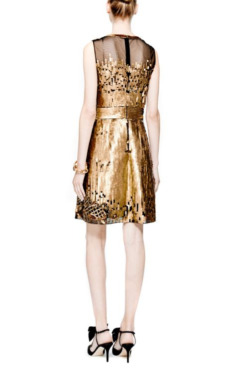 Embellished Tulle Dress by Alberta Ferretti - Moda Operandi