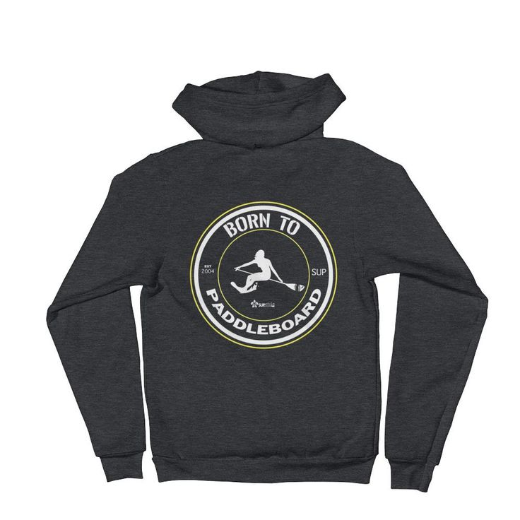 Born To Paddleboard Woman SUP Surfing Hoodie