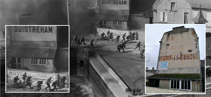Port en bessin une trace du tournage du film le jour le plus long pour la sc ne de la prise du - Port irlandais en 7 lettres ...