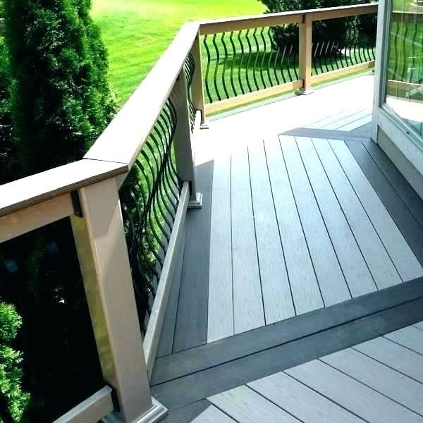 2 Tone Deck Deck 2 Tone Deck Staining Ideas Outdoor Deck