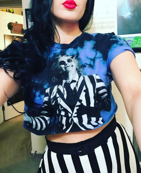 The ghost with the most // Beetlejuice Character Tie Dye T-Shirt