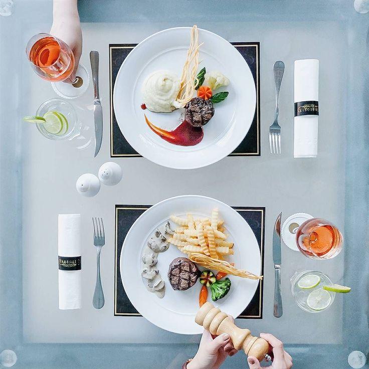 Carnivore dream // at Ambrosia Dine & Lounge.  #inijiegram #food #TableToTable #kuliner #culinary #handsinframe