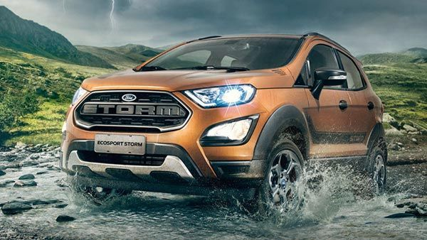 New Ford Ecosport Storm Edition Unveiled Gets 4wd Sporty Cosmetic Upgrades Ford Ecosport Ford Ford Argentina
