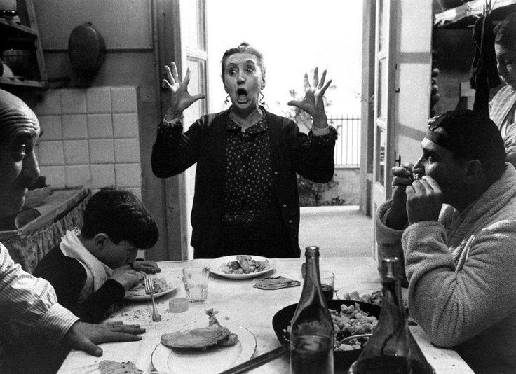 A scene from Fellini's Amarcord (1973)