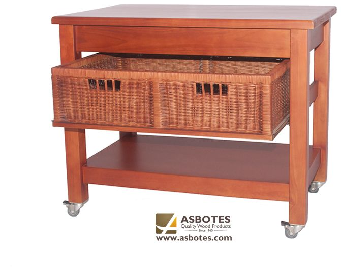 Basket Trolley on wheels Available in various colours. For more details contact us on (021) 591-0737 or go to our website www.asbotes.com