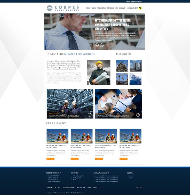 Corpes by Kurdi Group webdesign