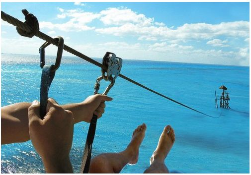 zip-lining into the ocean in los cabos, mexicoCancun Mexico, Bucketlist, Buckets Lists, The Out, The Ocean, Places, Isla Mujeres, Zipline, Zip Line