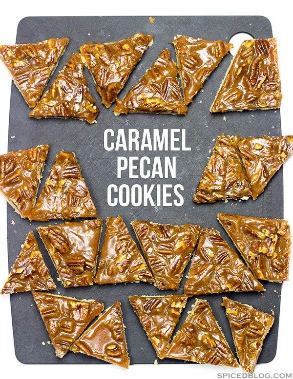 pecan cookies pecan cookies shortbread cookies cookie table pecan ...