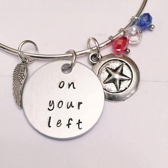 On Your Left (adjustable bangle) #samwilson #falcon #captainamerica