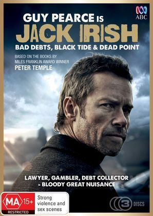 Guy Pearce stars as Jack Irish, a former criminal lawyer who now spends his days as a part-time investigator, debt collector, apprentice cabinet maker, punter and sometime lover.