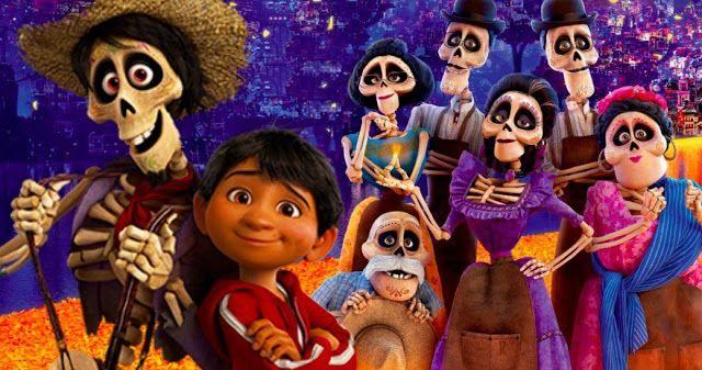 Viva A Vida E Uma Festa Coco Filmes De Animacao Disney