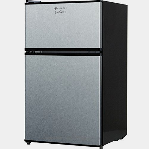 Avalon by Keyton Refrigerator & Freezer with Double Doors – 3.1 Cubic Feet, Compact, Adjustable Legs, Interior Light & Adjustable Thermostat – UL & Energy Star Certified – Stainless Steel  Check It Out Now     $499.00    The Avalon 3.1 Cubic Feet Double Door Refrigerator is a highly energy efficient refrigerator. The reversible door gi ..  http://www.appliancesforhome.top/2017/04/01/avalon-by-keyton-refrigerator-freezer-with-double-doors-3-1-cubic-feet-compact-adjustable-legs-in..