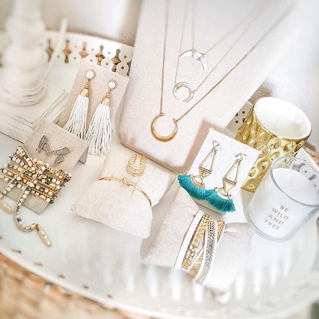 When your jewelry collection is too pretty to be kept in a box