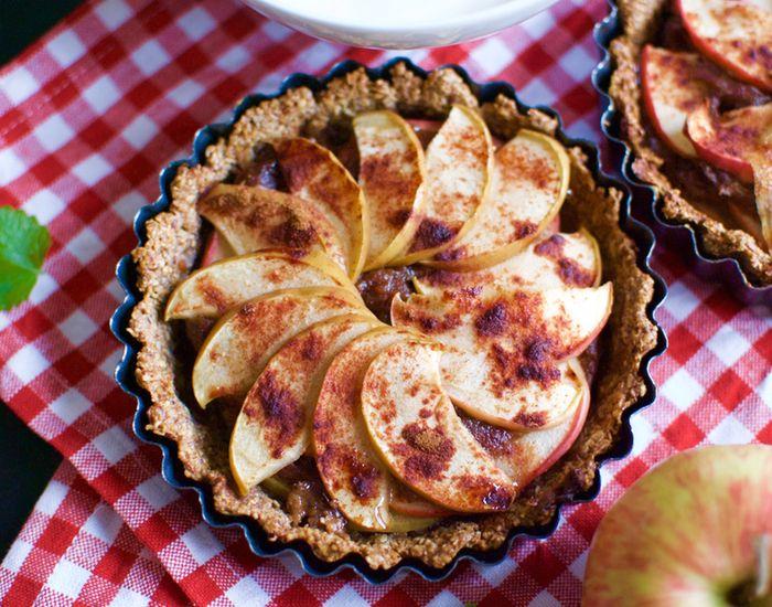Mini æbletærter (næsten sunde)