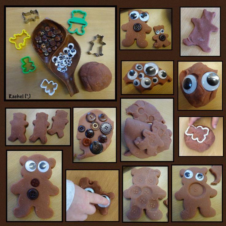 """Bear dough - from Rachel ("""",)"""