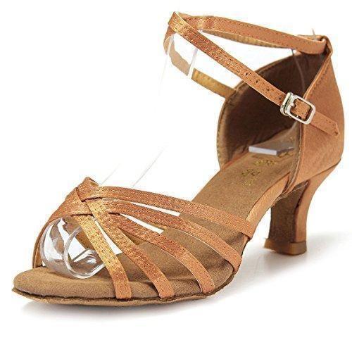 Oferta: 8.6€. Comprar Ofertas de Mujer Zapatos Tacon - Generico 1 par Mujer Zapatos Tacon De Salsa Bachata Latinos Baile Sandalias Latin Shoe, Beige 36 barato. ¡Mira las ofertas!