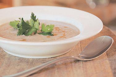 Mushroom soup – Recipes – Bite - Formerly Foodhub.co.nz  #RealFood #HealthyEating