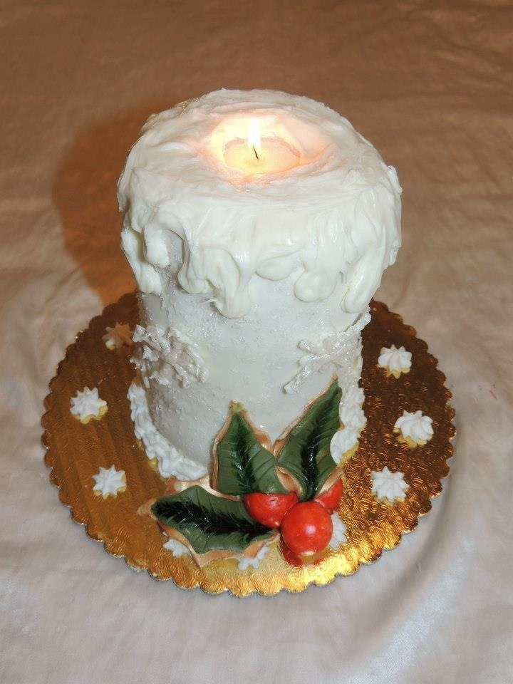 Christmas Candle Cake Images : 20 best Super Mario Cakes images on Pinterest Super ...