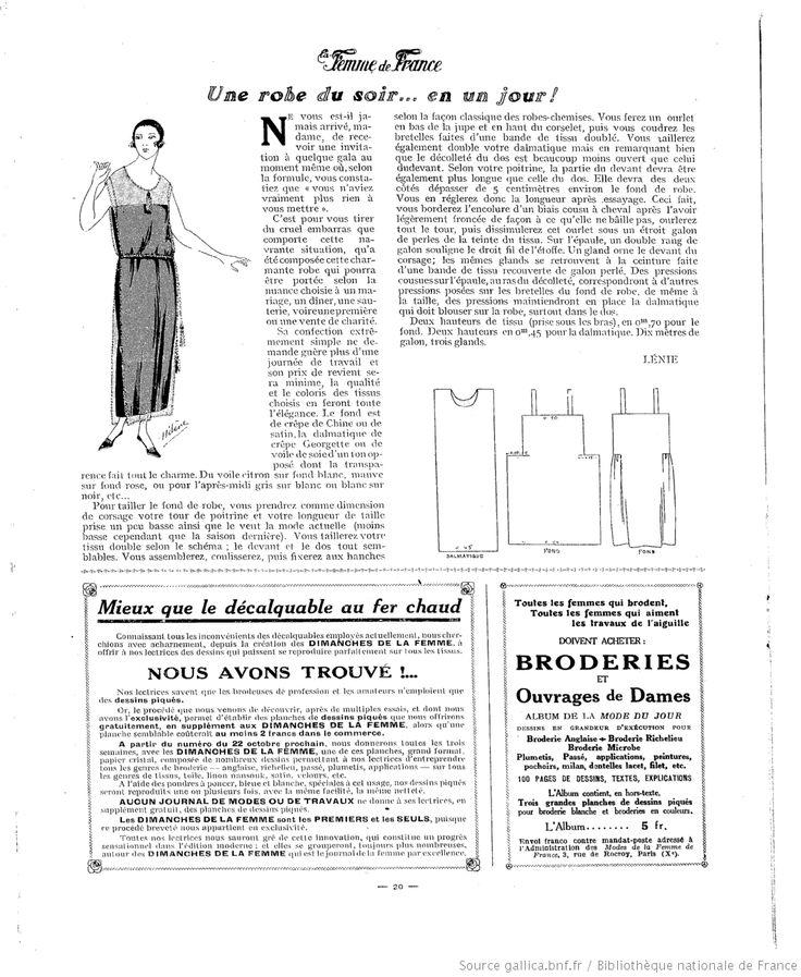 La Femme de France 1922/10/08