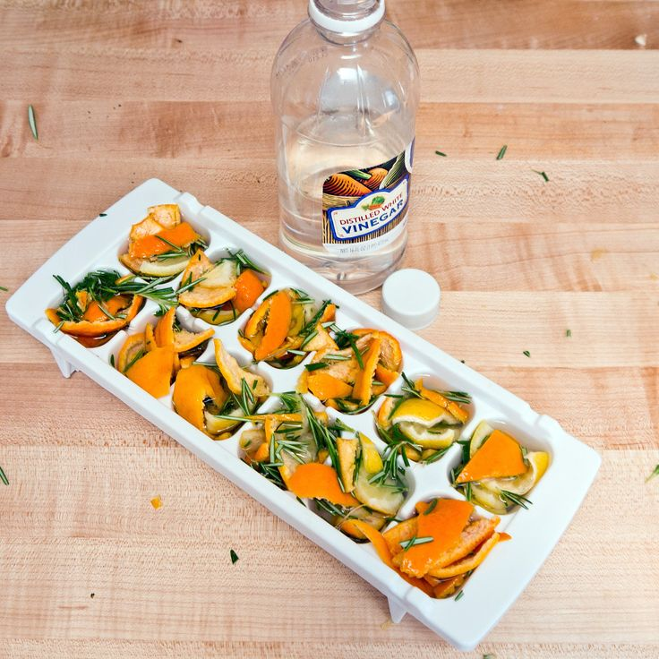 Frozen Citrus-Rosemary Garbage-Disposal Cleaners | POPSUGAR Smart Living